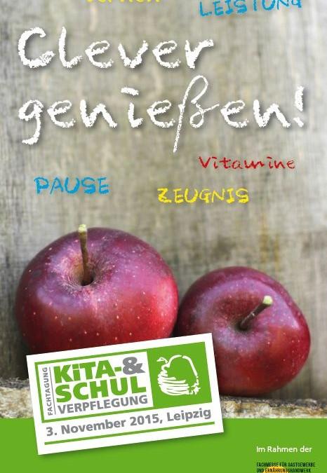 Fachtagung Kita- und Schulverpflegung in Leipzig