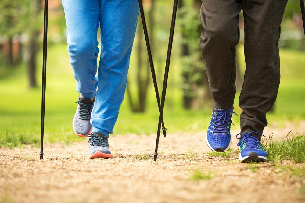 """""""Walking mit Stöckern"""" ganz persönlich und individuell"""